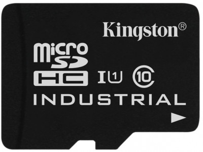 Карта памяти MicroSD 32GB Kingston Class 10 UHS-I Industrial Temp без адаптера