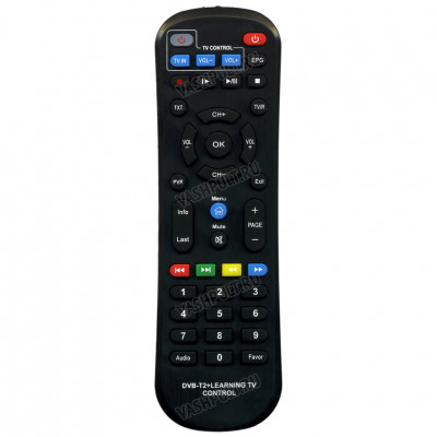 Пульт для World Vision T62A (DVB-T2 Learning TV control) от Huayu