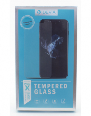 Защитное стекло Devia IPhone X Tempered Glass 0.26mm
