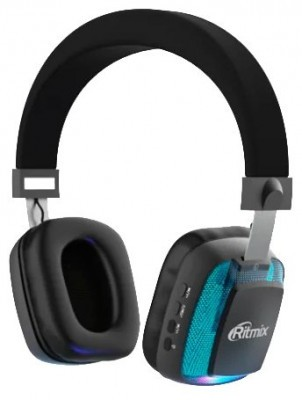 Гарнитура Ritmix RH-485BTH, Bluetooth headset Supports A2DP/HFP/HSP/AVRCP (черная)