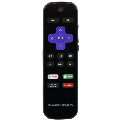 Пульт Sharp Roku TV LC-RCRUDCA-18