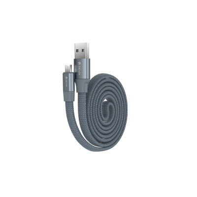 USB кабель Devia Ring Y1 Flexible for Micro (серый)