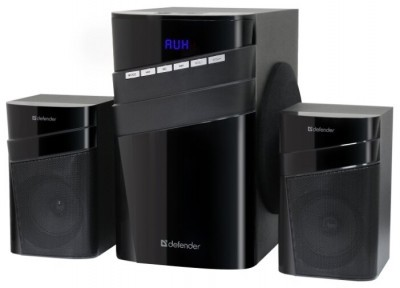 Активная система Defender 2.1 X400, 40 Вт, Bluetooth, FM/MP3/SD/USB (черная)