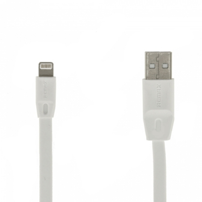 USB кабель Remax Full Speed Series 1M Cable RC-001i Apple 8 pin (белый)